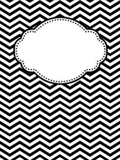 Best 20+ Chevron binder covers ideas on Pinterest | Chevron ...