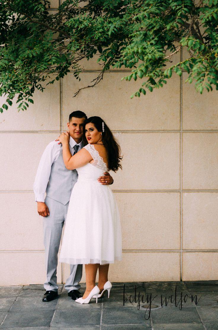 Seattle Courthouse Wedding // Gaby + Kiko