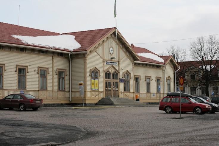 Railway station. Oulu, Finland.