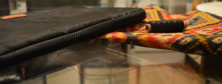 Upgrade your notebook bag. #liputa #ankara #africanfabric #fabric #diy #tutorial #creative