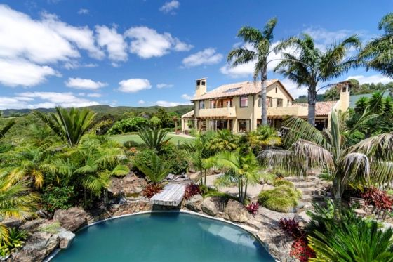 Location Homes Mangawhai new build - view from the pool