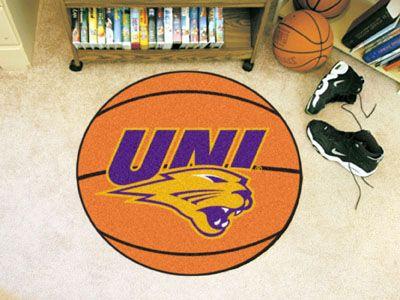 University of Northern Iowa Basketball Mat