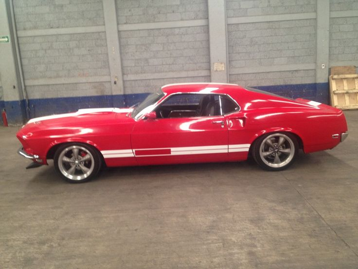 Image Detail For Ford Mustang 1969 Rojo Fastback Mach One Motor
