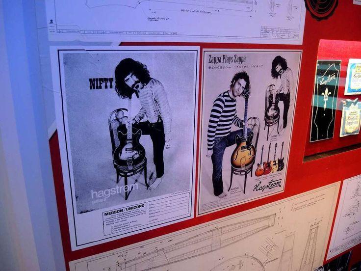 Exhibition Stall Checklist : Zappa plays hagström guitar exhibition in falun