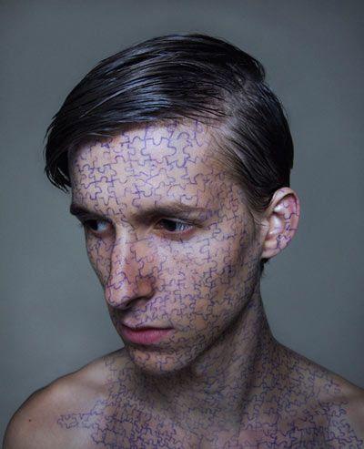 face art by levi van veluw.