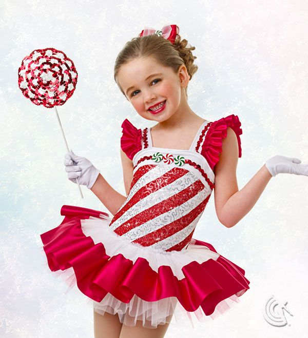 Curtain Call Costumes® - Peppermint Stick E565 Stock is not guaranteed, please contact customer service to order 888-808-0801.