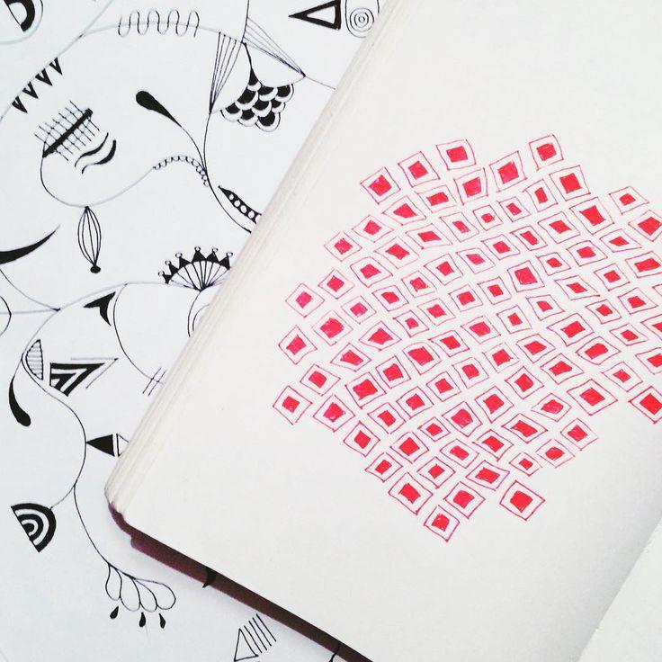 Patternmaking ● Virki illustration (Vira Kiktso) instagram: @artbyvirki #virki #virkiillustration #illustration #pattern #mönster