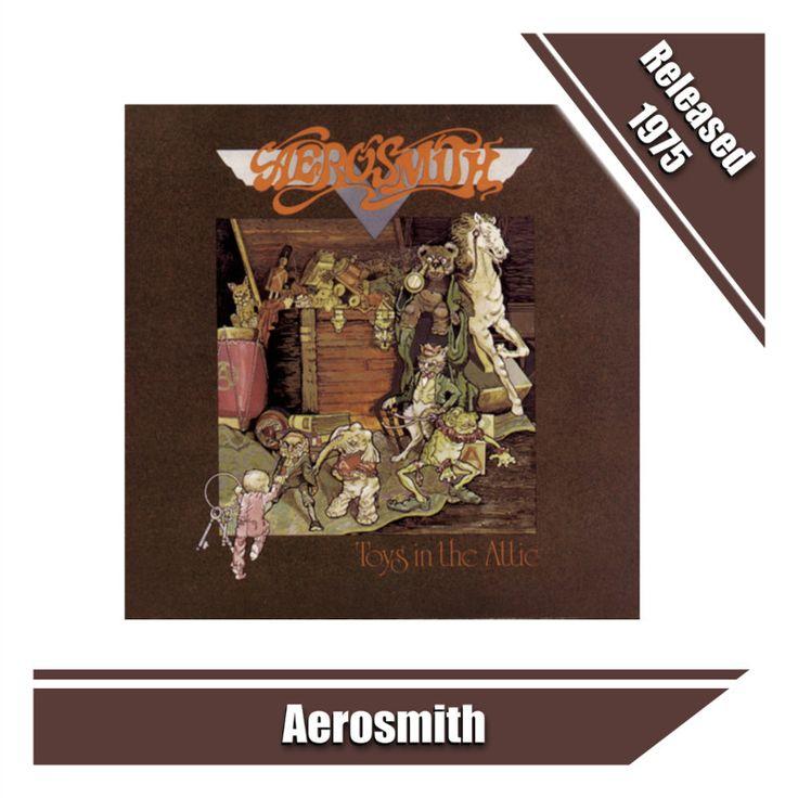 Toys in the Attic Album is by Aerosmith #aerosmith #70s #70smusic #rock #rockmusic #hardrock #music