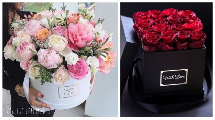 Kwiaty W Pudelku Doskonale Na Prezent I Jako Dekoracja Vertigo Com Pl Vertigo Treatment Vertigo Bloom