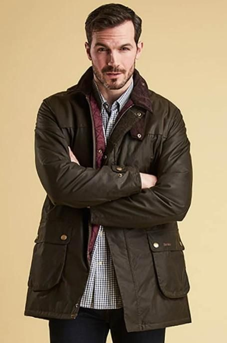 489311cd824 Barbour Cartmel-Mens Wax Jacket -Olive-MWX1365OL71 - Smyths Country Sports