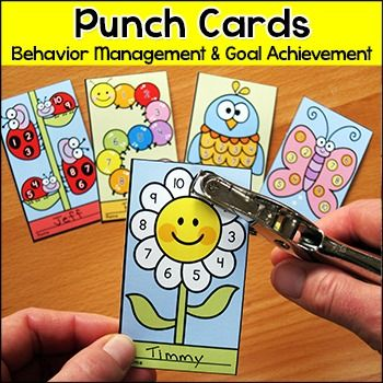 Spring Activities Punch Cards: Motivate your students to achieve goals and good behavior with these fun and unique spring / summer theme punch cards. Your students will love the cute characters and they will be excited to earn a punch on their card. Use these cards for behavior management, skill proficiency, homework completion, accelerated reader, goal achievement or anything else you can think of.
