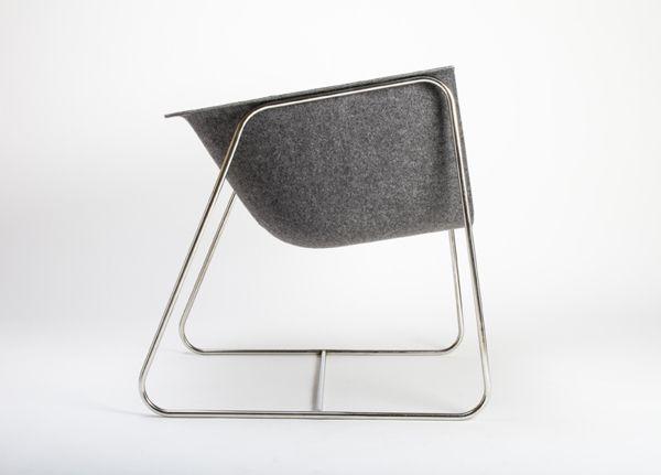 Tubh chair by Jorge Arbelo Cabrera