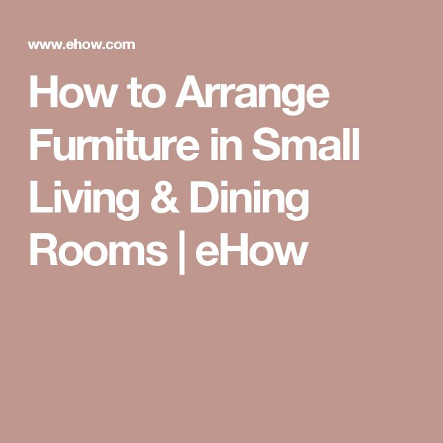 17 Best Ideas About How To Arrange Furniture On Pinterest