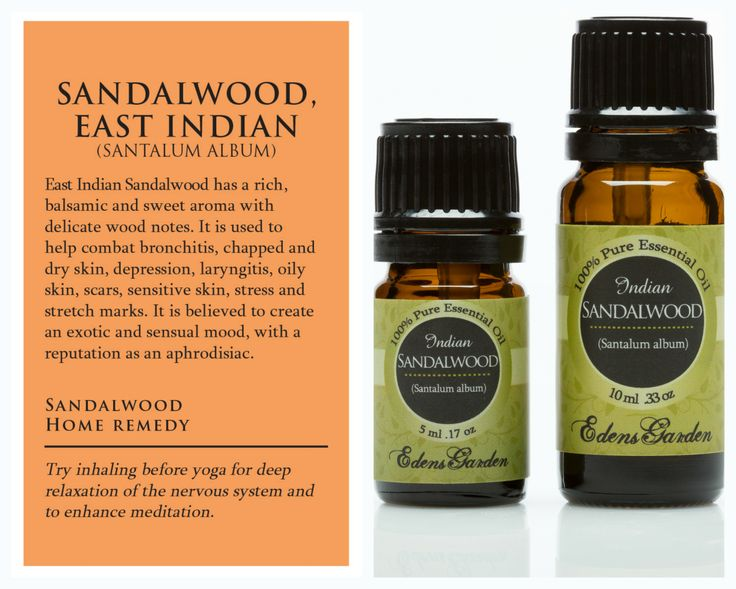Sandalwood East Indian Essential Oil Soaps Earthy And Note