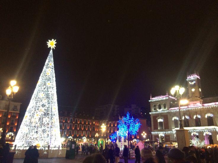 Plaza Mayor Valladolid Navidad
