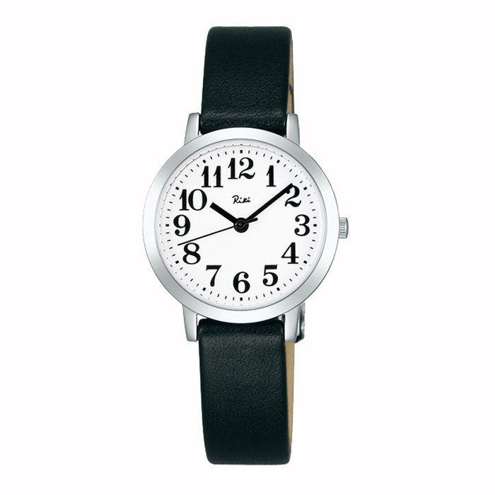 RIKIWATANABEリキワタナベSEIKOセイコー3針モデル腕時計レディースホワイトAKQK408【送料無料】【代引き手数料無料】