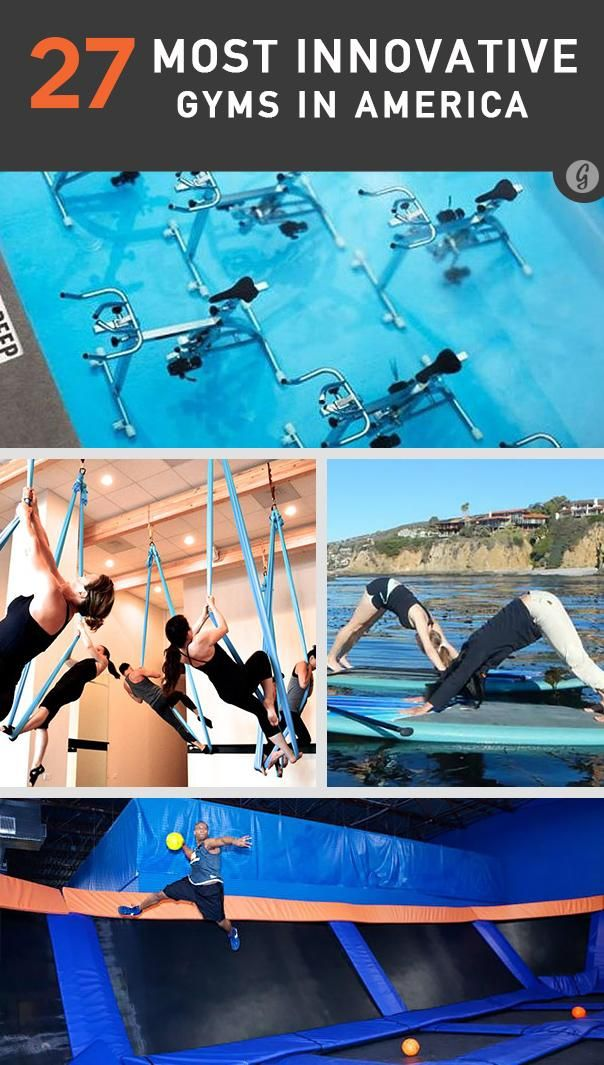 27 Most Innovative Gyms in America. #Fitness #Health