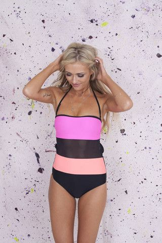 Block It Out Swimsuit | Primark