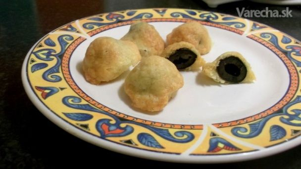 Cheddarové olivy