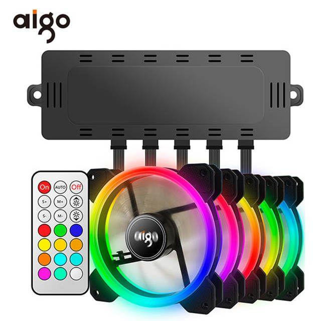 9 99us 40 Off مراوح تبريد للكمبيوتر مع جهاز Aigo Dr12 تحكم من ريموت أي أ إم 3 إم 4 مروحة مزدوجة 120 ميلليمتر بلا صوت المراوح والتبريد Aliexpress Cooling Fan Fan Remote