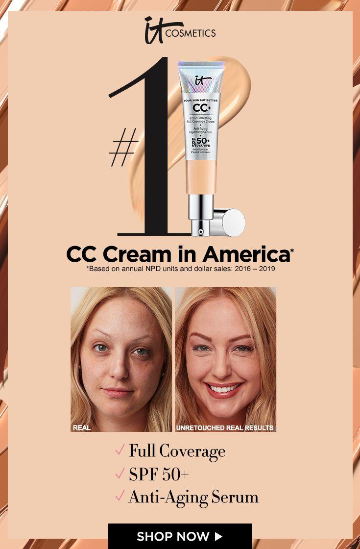 CC+ Cream with SPF 10+ - IT Cosmetics in 10  It cosmetics cc