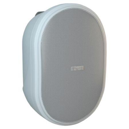 APart Apart OVO8 White  — 10387 руб. —  Настенный громкоговоритель, предназначенный для озвучивания больших и средних помещений (торговые центры, транспортные терминалы и др). Динамики: 1  ВЧ и 8  СЧ/НЧ, 8 Ом, частотный диапазон: 45 Гц - 20 кГц, чувствительность: 92 дБ.