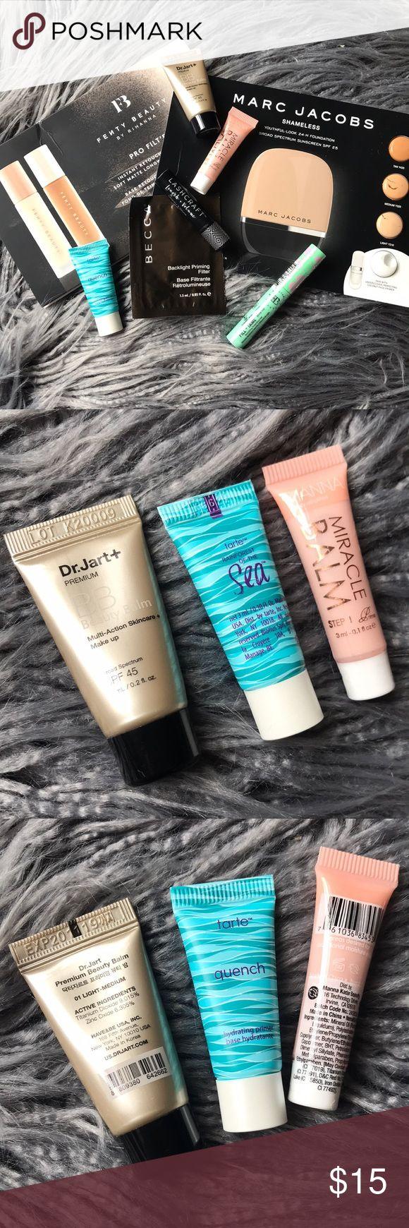 Make-up pattern bundle Fenty Magnificence, Becca & extra Becca backlight priming filter, …