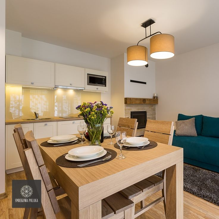 Apartament Mroźny - zapraszamy!  #poland #polska #malopolska #zakopane #resort #apartamenty #apartamentos #noclegi #livingroom #salon #kitchenette