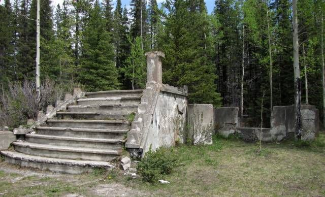 steps of a church in bankhead AB
