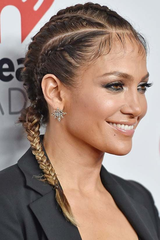 Two Cornrows With Braiding Hair | New Natural Hairstyles
