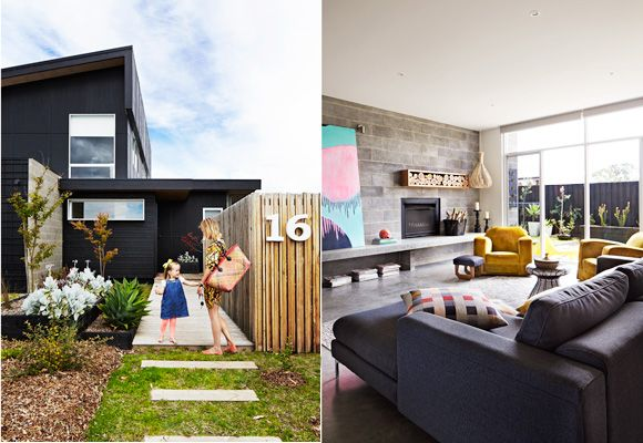 Contemporary style & substance ooze from every corner of this clever & creative family build in Victoria's coastal suburb of Barwon Heads. For more check out Real Living's April 2013 issue.