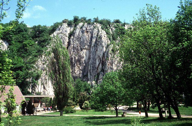 Aggtelek stalactite and stalagmite cave