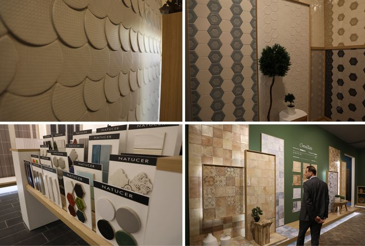 Natucer opts for small tile sizes (Сotto Bello, Ferro di Boston, Caprice, Riad, etc.).