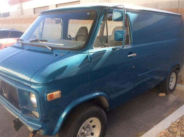 1979 Chevrolet Window Van For Sale Las Vegas Nevada Van Van