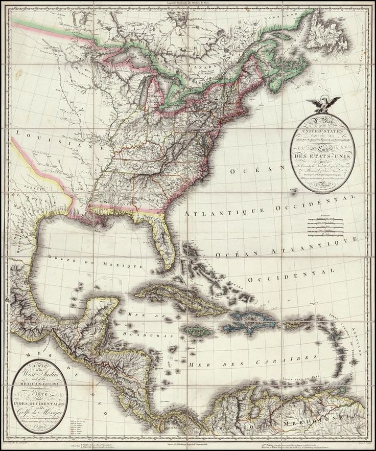 Best Antique Maps Americas Images On Pinterest Antique Maps - 1806 map of the us