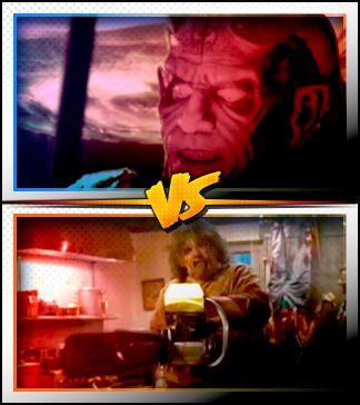 THE DJINN versus LEATHERFACE ■ http://terror.ca/movies/franchise/rank?f=291&f2=264