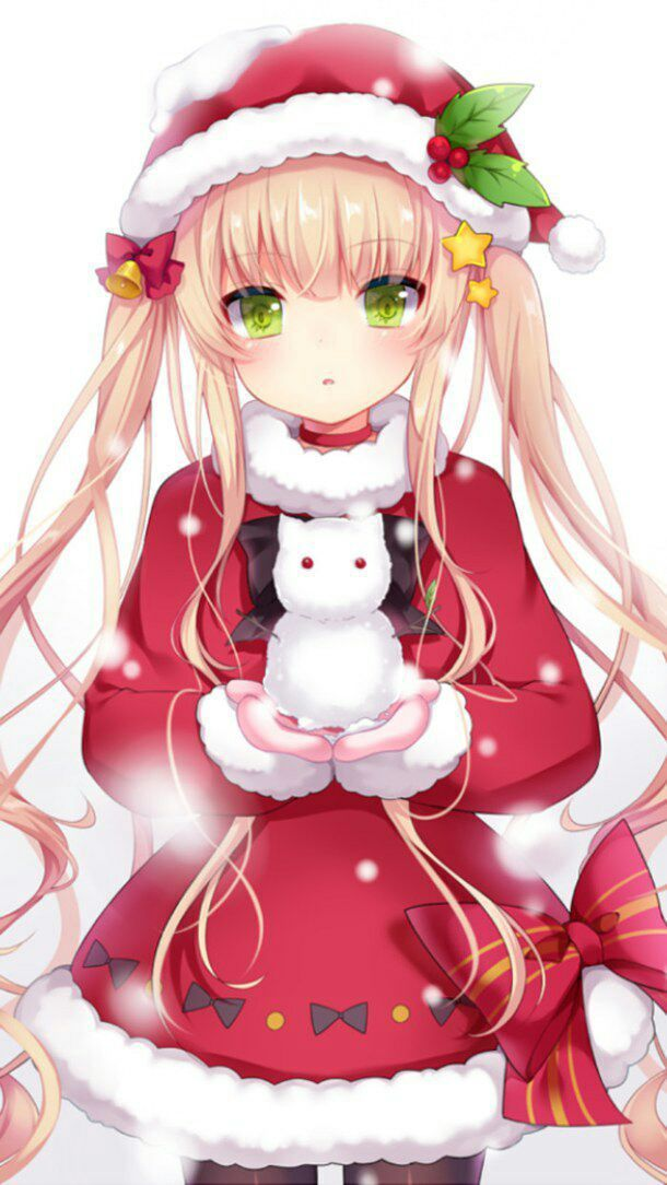 Have a Meowy Christmas or if you're alergic to cats then Merry Christmas Deer~ ❤