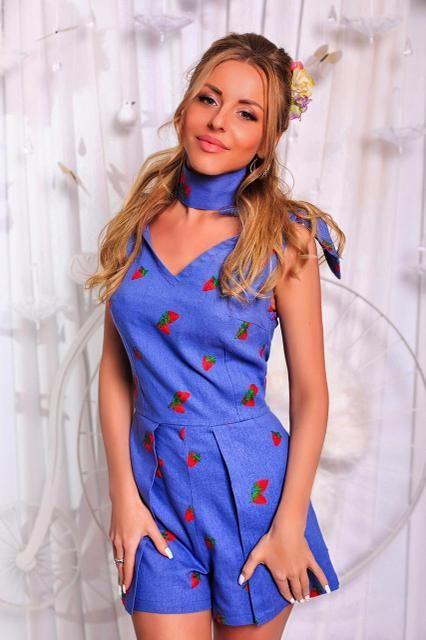 Комбинезон женский с шортами в расцветках 18406, фото 1