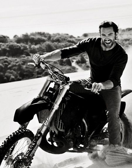 That man...That bike...Could you kindly make sure I don't hit my head on anything when I faint...Thank you!
