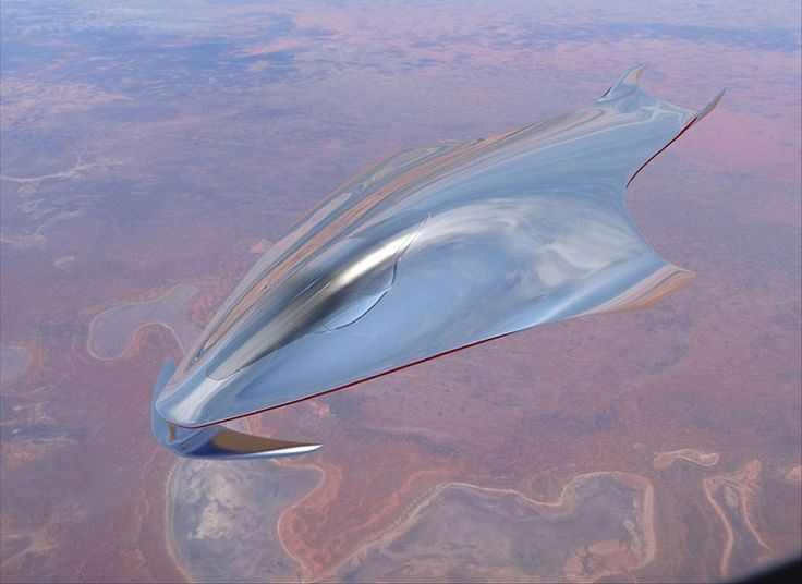 Spaceship Concept by Ferrari Design Director | Daily Design News