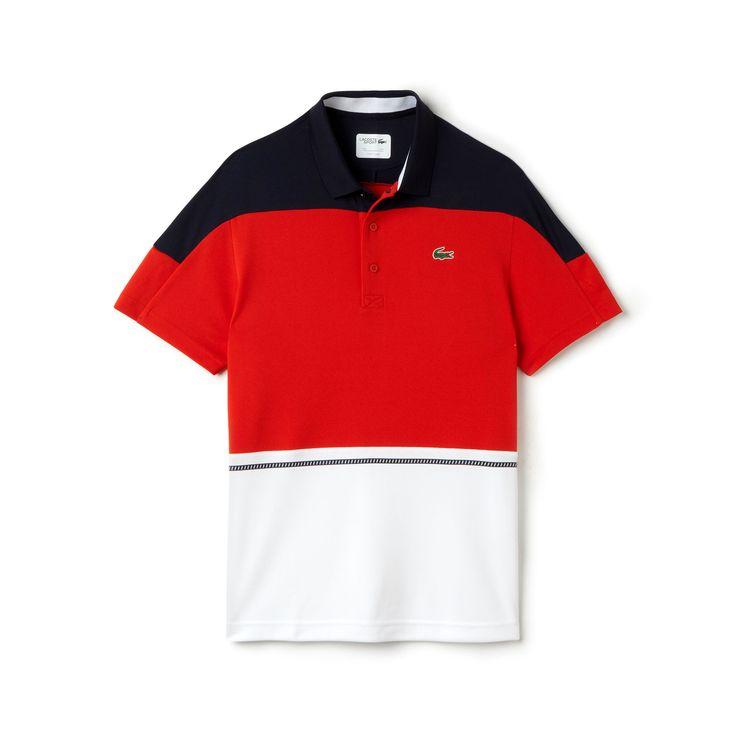Men's SPORT Ultra Dry Color Block Tennis Polo Shirt