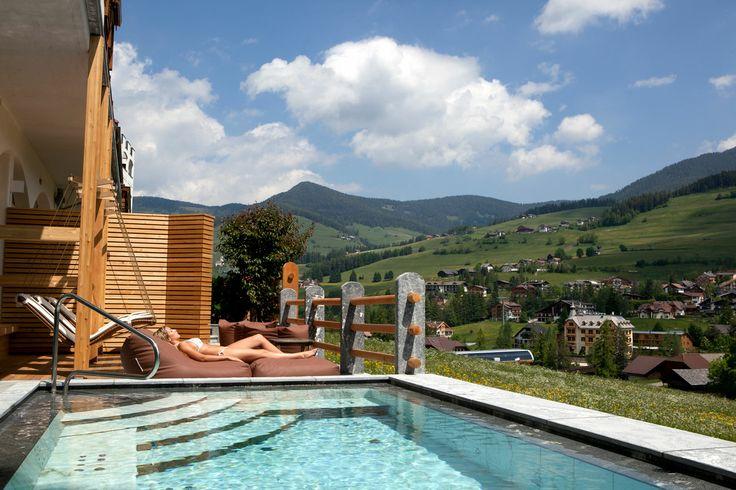 #SPA #Dolomiti - Wellness di lusso su 1300 mq inclusa nel prezzo www.myexcelsior.com