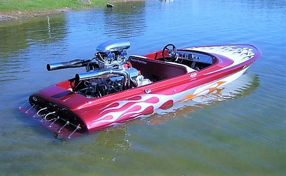Flat Bottom Drag Boat