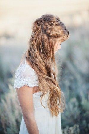 #coiffure #hair #tresses #mariée #bride #mariage #wedding