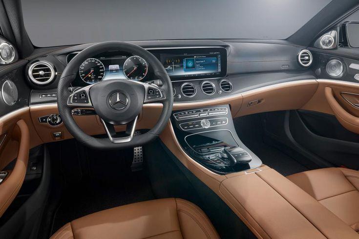 Mercedes E-Class dash black/brown