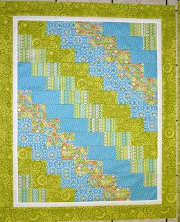 Quilting Lodge Blog: Super Quick & Easy Baby Quilt…Tiny Trails Callie Hirsch