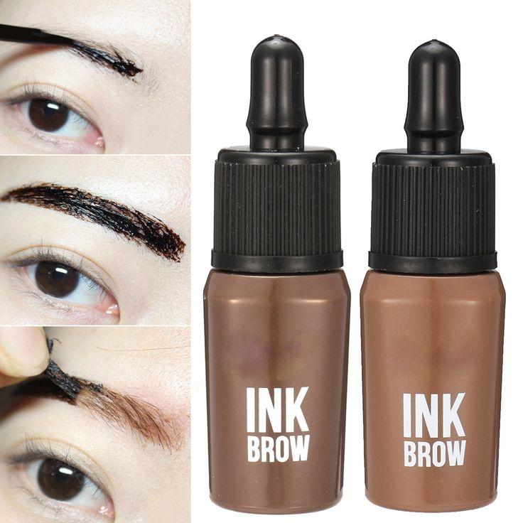 Long Lasting Peel Off Eyebrow Enhancers Eye Brow Tattoo Gel Waterproof Makeup