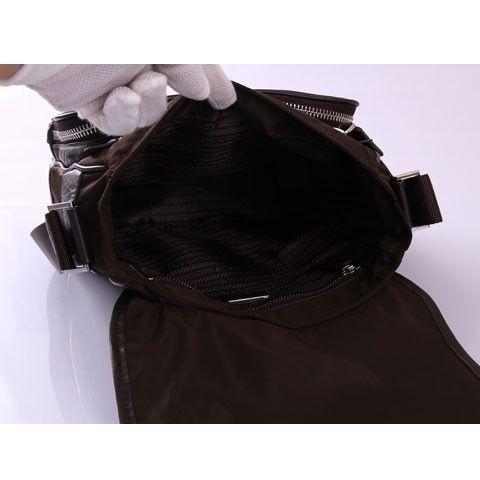 prada nylon tote bags - PRADA MESSENGER BAG BROWN VA0400 - Prada Mens - Prada Bags   Prada ...