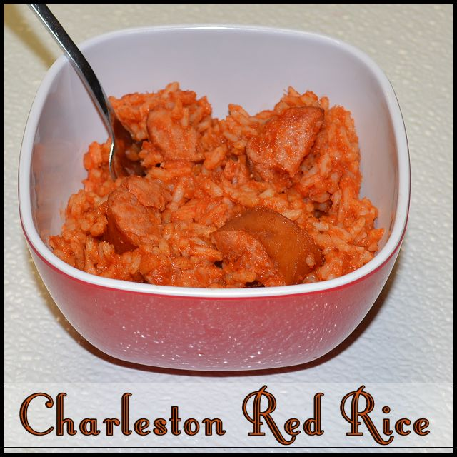 Charleston Red Rice. Subbed the bacon with sausage like mom used to do - perfect recipe!