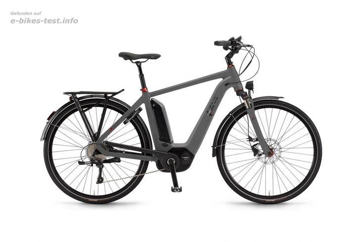 Sinus Ebike Fahrrad Ena27 Herren 500Wh 28 Zoll 27-G Dual Drive schiefergrau matt